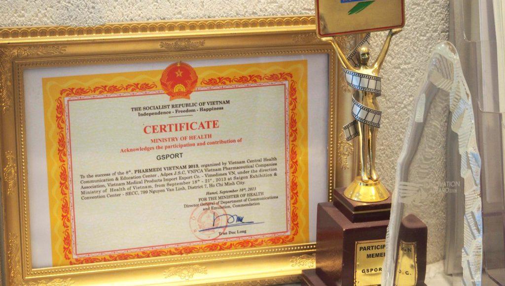 certificate Awards
